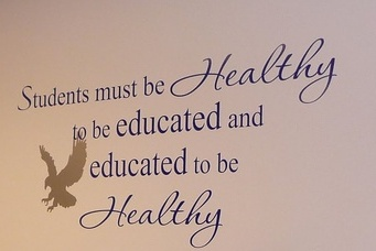Students must be Healthy to be educated and educated to be healthy