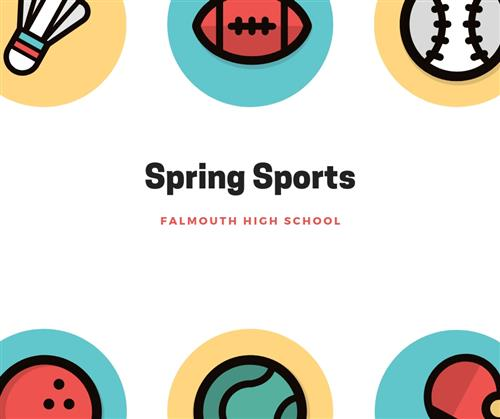 Spring Sports Logo - Falmouth High School