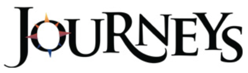 "The word reads ""Journeys"" and is a logo image of the word offered by the publisher, HMH."